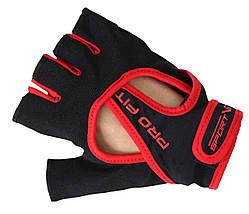 Рукавички для фітнесу SportVida SV-AG0009 (XXL) Black, фото 2