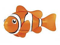 Двигающаяся рыбка Robofish на батарейках Маленькая  Оранжевый