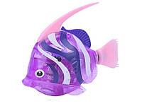 Двигающаяся рыбка Robofish на батарейках Большая  Фиолетовый