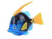 Двигающаяся рыбка  Robofish на батарейках Большая  Синий