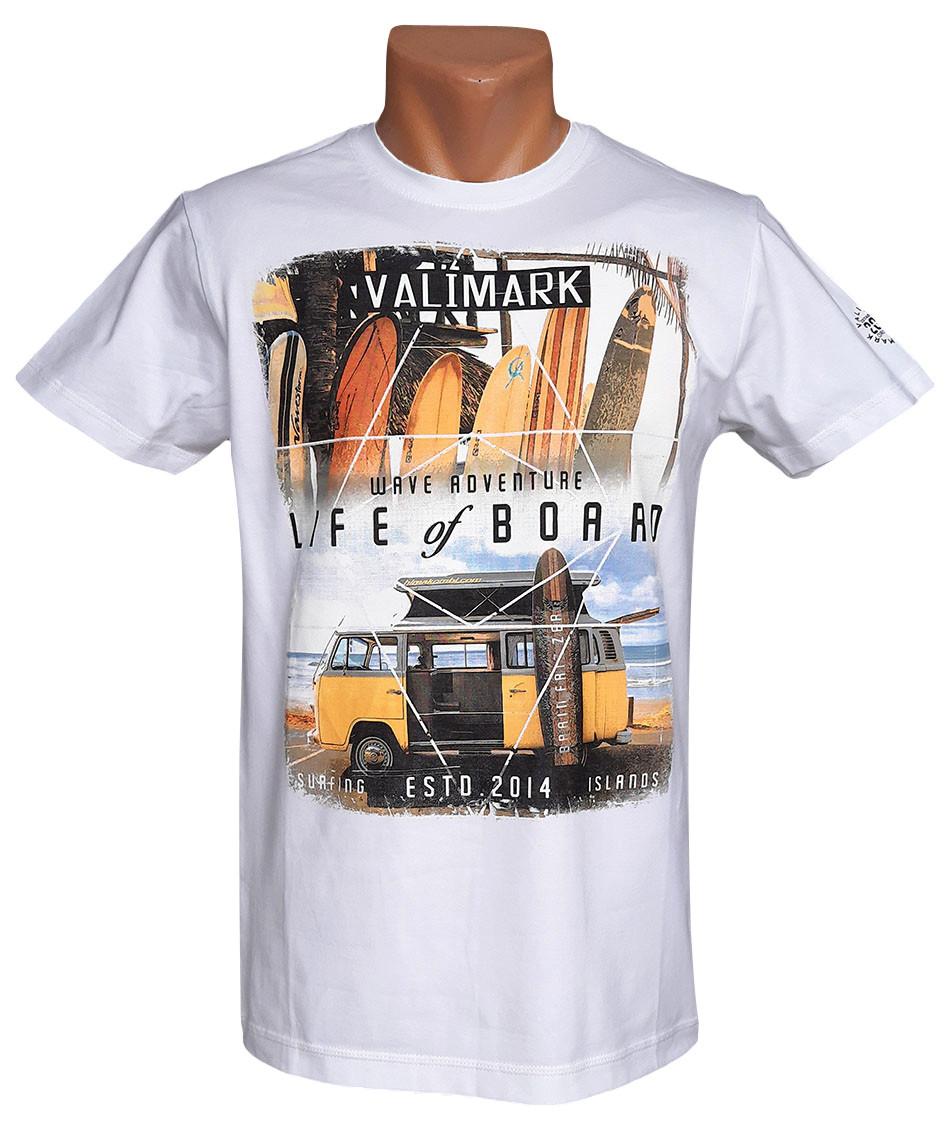 Мужская футболка  Valimark - №5942