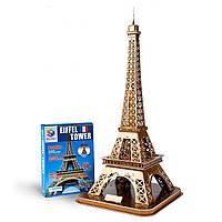 """Огромные 3Д пазлы """"Эйфелева башня""""  Трехмерный конструктор-головоломка  78 см * 35.2 см * 38.2 см *"""