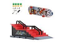 Скейт парк і фінгерборд Tech Deck F Червоний