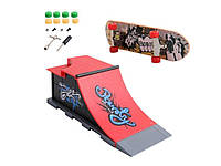 Скейт парк і фінгерборд Tech Deck C Червоний