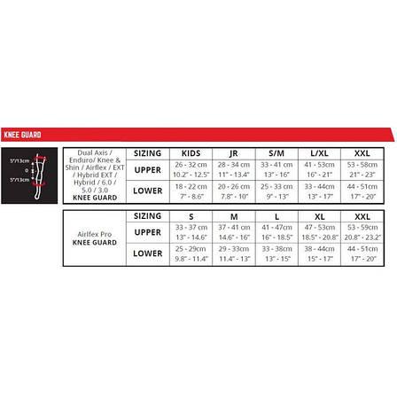 Наколенники LEATT Knee Guard 3DF 6.0 [White/Black], XXLarge, фото 2