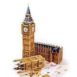 """Величезні 3д пазли """"Big Ben"""" Тривимірний конструктор-головоломка 63.8 см * 25 см * 47 см, фото 3"""