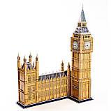 """Величезні 3д пазли """"Big Ben"""" Тривимірний конструктор-головоломка 63.8 см * 25 см * 47 см, фото 5"""