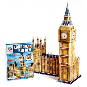 """Огромные 3д пазлы """"Big Ben"""" Трехмерный конструктор-головоломка  63.8см * 25см * 47см"""