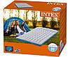 Полуторный кемпинговый надувной матрас Intex 67999, 127х193х24 см, фото 3