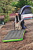Одномісний надувний матрац з надувною подушкою Pavillo Bestway 67619, 99x188x22 см (сіро-зелений), фото 4