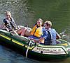 Тримісна Intex надувний човен 68380 Seahawk 3 Set з веслами і насосом 295 х 137 х 43 см, фото 7