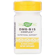 """Комплекс диметилглицина с магнием и калием Nature's Way """"DMG-B15 Complex"""" (60 капсул)"""