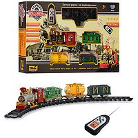 Детская железная дорога на радиуправлении с эффектом дыма