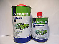 Акриловый бесцветный лак Mobihel MS (1л) + отвердитель 8800 (0,5л)