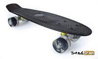 Penny Board Original 22 с гравировкой, светящиеся колеса