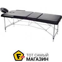 Массажный стол Relax HY-3381 черный