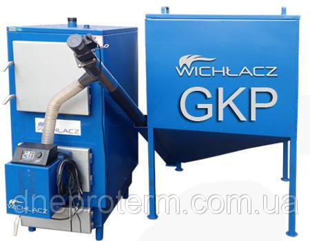 Котел твердотопливный Wichlaсz модель GKP-65 под пеллетную горелку, фото 2