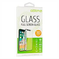 Защитное стекло Optima 3D for Huawei Y7 (2019) Black