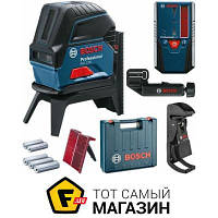 Лазерный нивелир Bosch GCL 2-50 + RM1 + BM3 + LR6 + кейс (0601066F01)