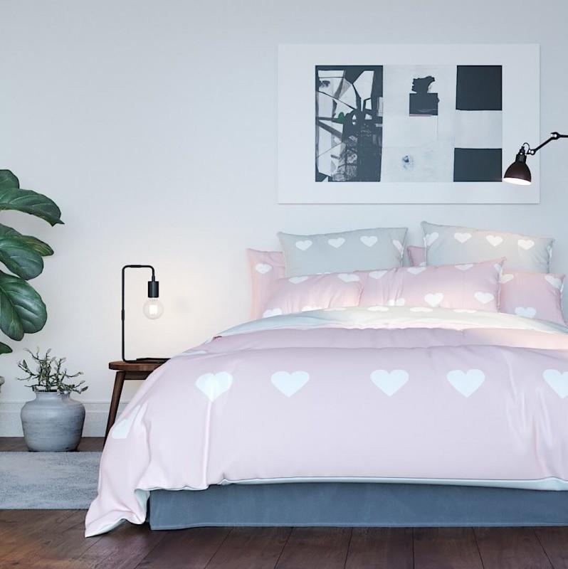 """Комплект постільної білизни ТЕП """"Pink Hearts"""""""