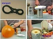 Консервный нож (автоматическая открывалка) Оne Touch Can Opener / Ван Тач Кен Опенер, фото 1