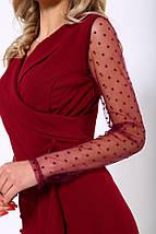 Комбинезон женский 119R177 цвет Бордовый, фото 2