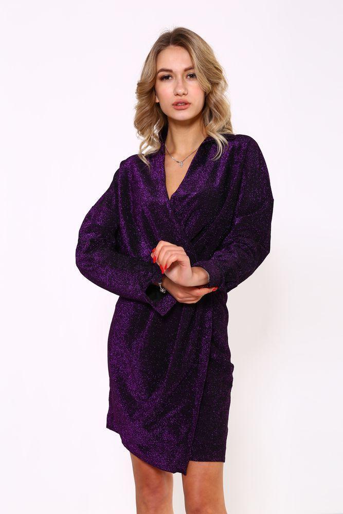 Платье женское 115R362 цвет Фиолетовый