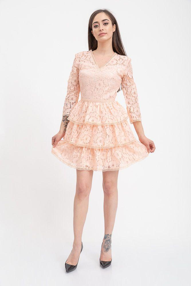 Платье 131R2897-2 цвет Персиковый