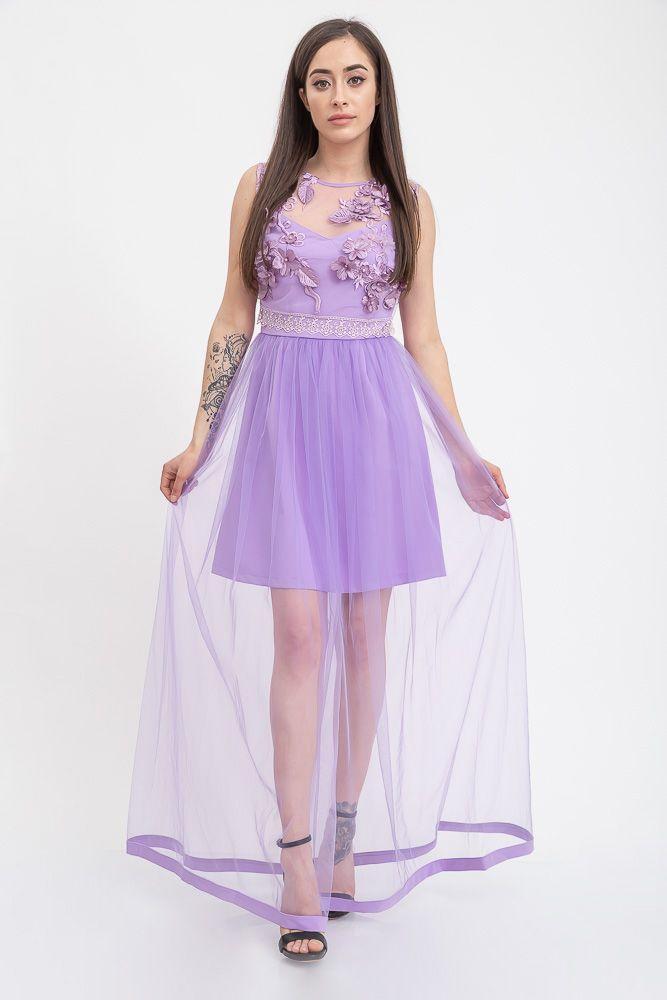 Платье 131R2710 цвет Сиреневый