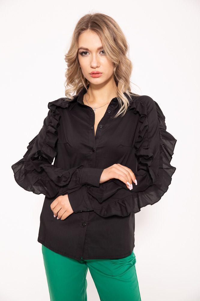 Блузка 115R315 цвет Черный