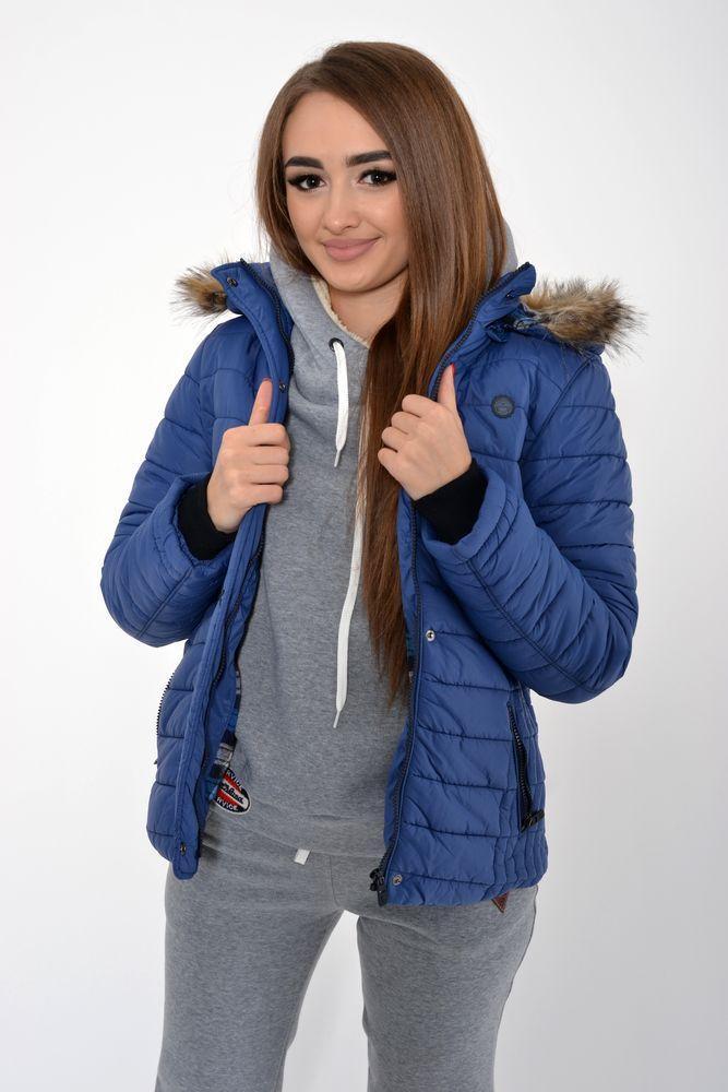 Куртка женская 123R5501 цвет Синий