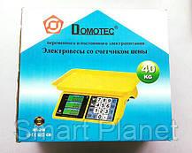 Торговые Весы Domotec до 40кг (ВидеоОбзор), фото 3