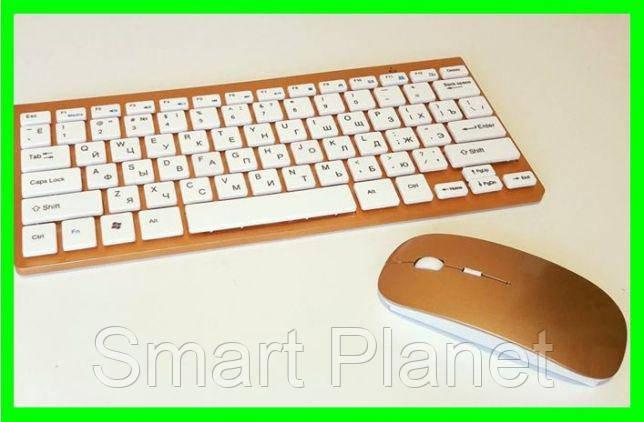 Беспроводная Клавиатура+Мышь дизайн Apple (902) Видео Обзор