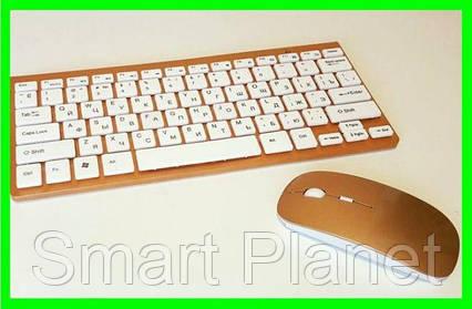 Беспроводная Клавиатура+Мышь дизайн Apple (902) Видео Обзор, фото 2