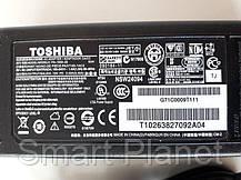 Блок Питания Зарядка для Ноутбука TOSHIBA - 3.42А (с сетевым кабелем), фото 2
