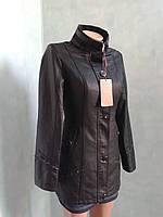Куртка удлиненная кожаная.Aoxing.p.40-42.
