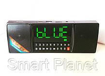 Bluetooth-FM-Колонка с Будильником и Большим LCD Экраном, фото 3