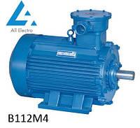 Взрывозащищенный электродвигатель В112М4 5,5кВт 1500об/мин