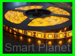 LED Ленты (5050) Yellow - Жёлтый длинна 5м Лед (ВидеоОбзор), фото 2