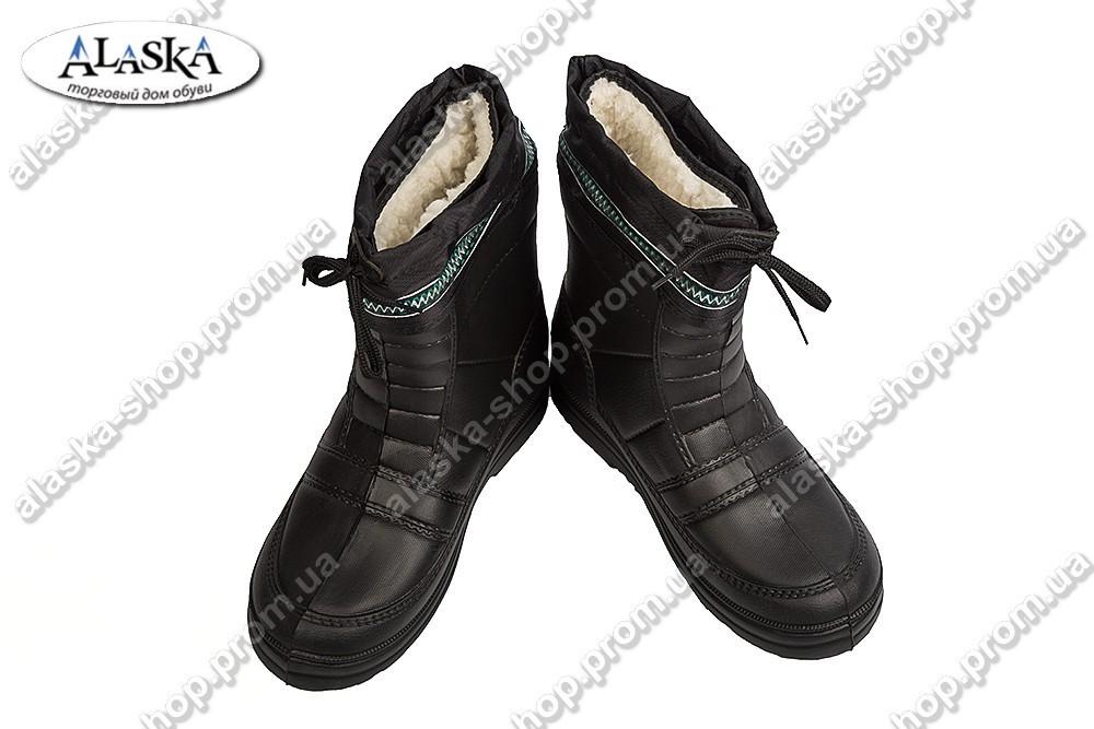 Мужские сапоги черные (Код: Б-01)