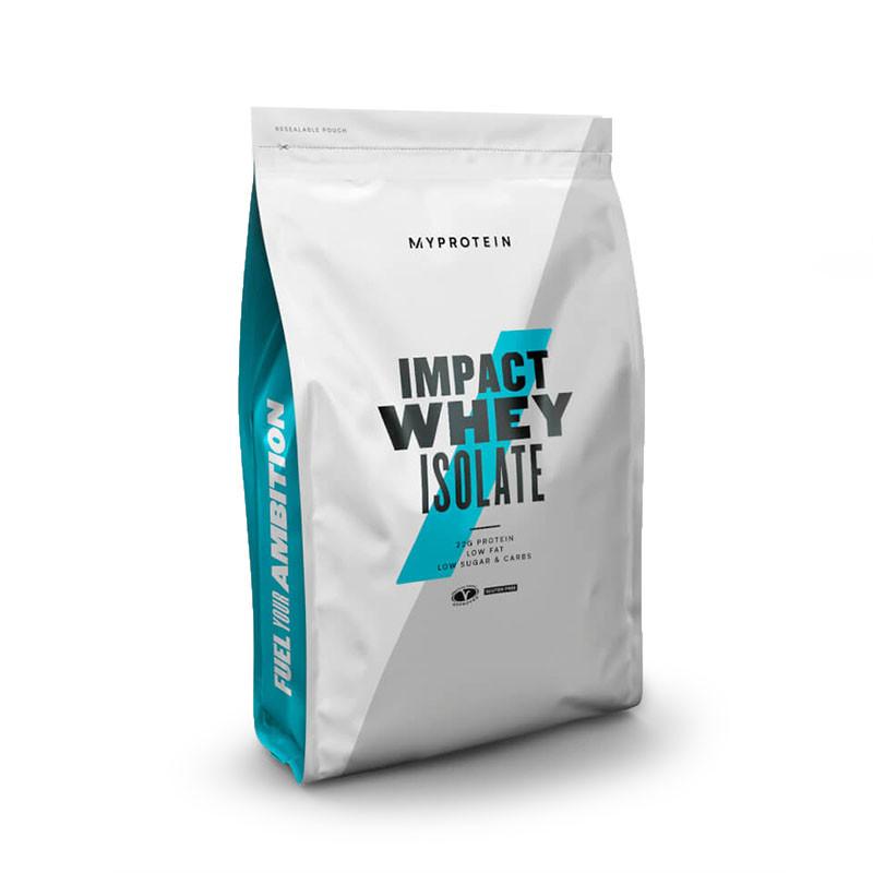 Протеин MyProtein Impact Whey Isolate, 1 кг Шоколадный брауни