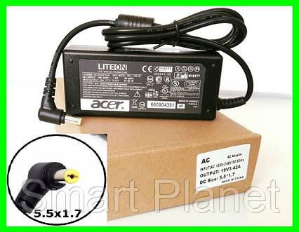 Блок Питания ACER 19v 3.42a 65W штекер 5.5 на 1.7 (ОРИГИНАЛ) Зарядка для Ноутбука, фото 2