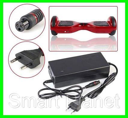 Зарядка Адаптер для Гироборда Блок Питания Гироскутер 42v 2a с сетевым кабелем., фото 2