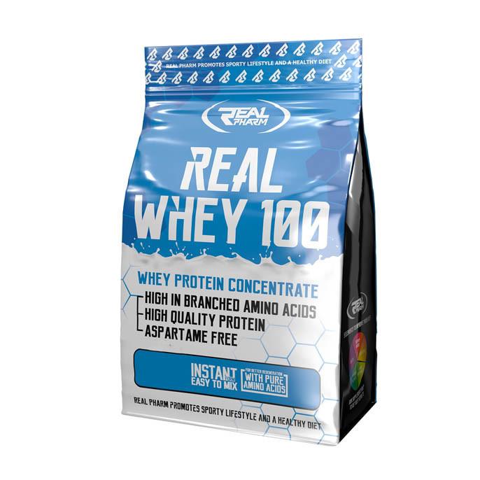 Протеин Real Pharm Real Whey 100, 2 кг Клубника