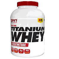 Протеин SAN 100% Pure Titanium Whey Essential, 2.27 кг Ваниль