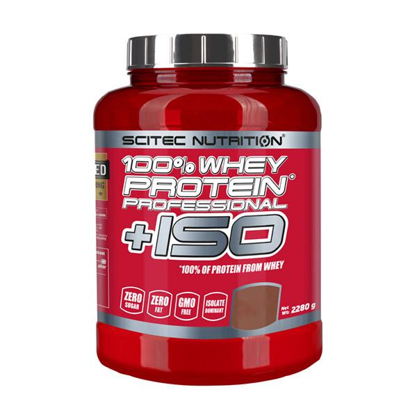 Протеин Scitec 100% Whey Protein Professional + ISO, 2.28 кг Белый шоколад-кокос
