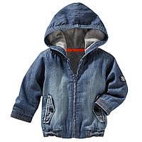 Детская джинсовая куртка для мальчика 18, 24 месяца