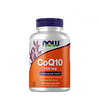 Витамины и минералы NOW CoQ-10 100 mg, 90 вегакапсул