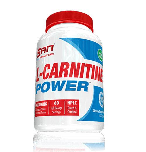 Жиросжигатель SAN L-Carnitine, 60 капсул