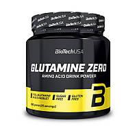Аминокислота BioTech Glutamine Zero, 300 грамм Персиковый чай